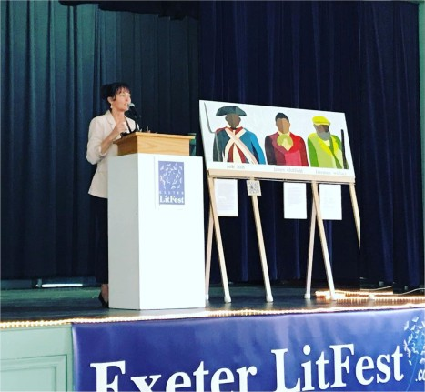 Renay Allen on poet James Monroe Whitfield at Exeter LitFest 2019